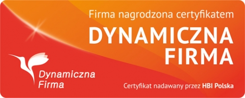 Certyfikat Dynamiczna Firma