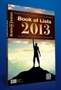 AIF Kancelaria na liścia Book of Lists 2013