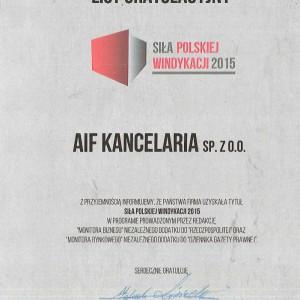 Siła Polskiej Windykacji 2015