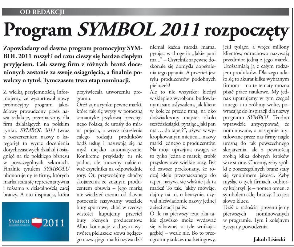 Program SYMBOL 2011