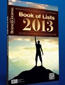 AIF Kancelaria na liście Book of Lists 2013
