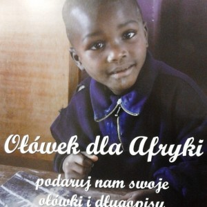 ołówek dla Afryki
