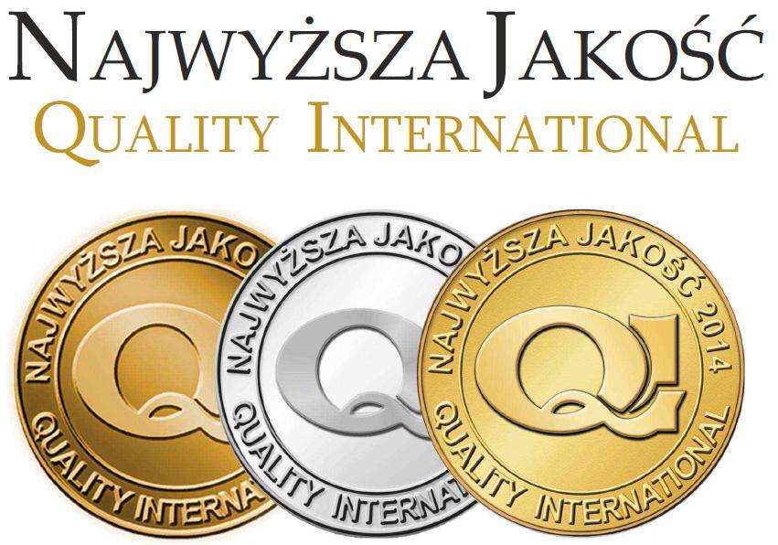 AIF Kancelaria nominowana do Programu Najwyższa Jakość Quality International 2014