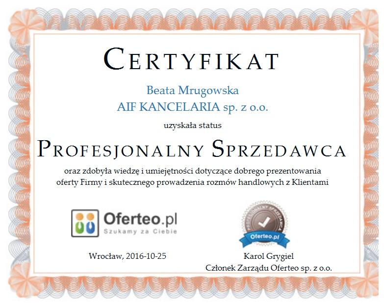 certyfikat-profesjonalny-sprzedawca-aif-kancelaria